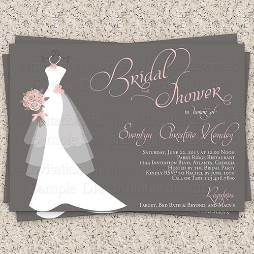 Wedding Shower Invitation Templates 33 Psd Bridal Shower Invitations Templates