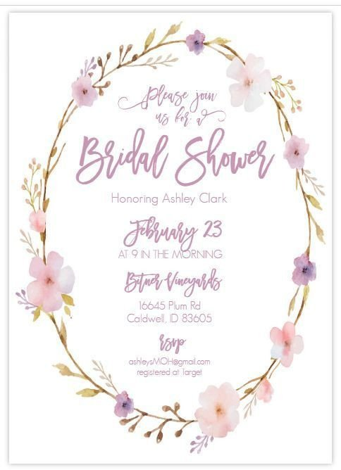 Wedding Shower Invite Template 13 Bridal Shower Templates that You Won T Believe are Free