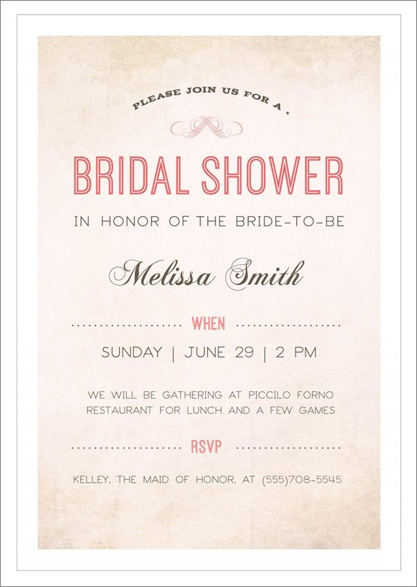 Wedding Shower Invite Template 33 Best Bridal Shower Invitation Templates Word Psd Ai