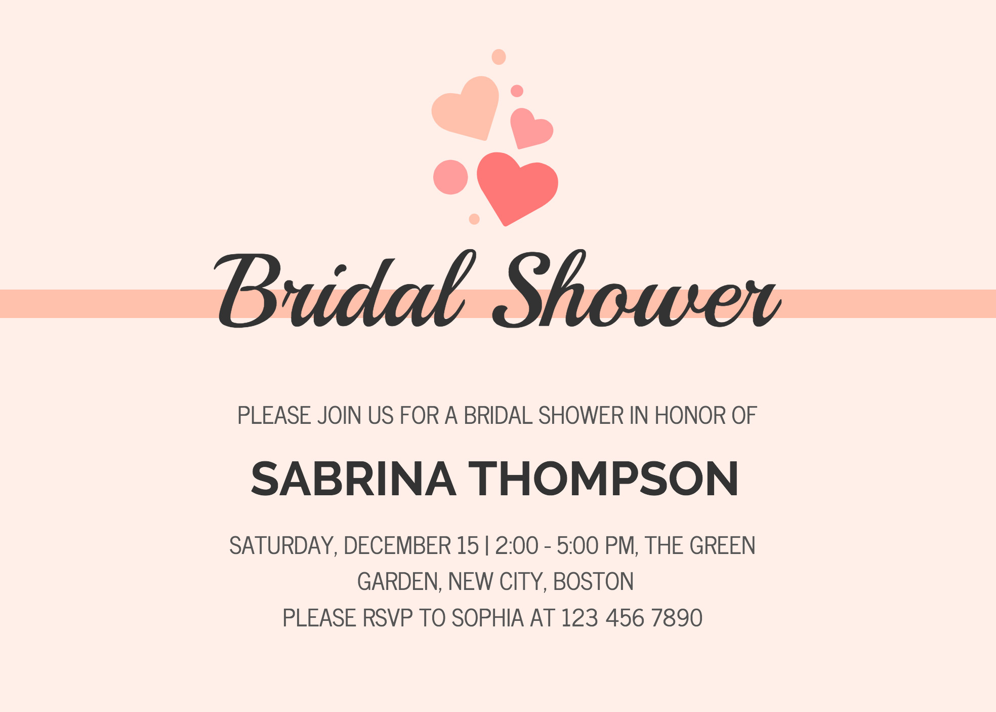 Wedding Shower Invite Templates 19 Diy Bridal Shower and Wedding Invitation Templates