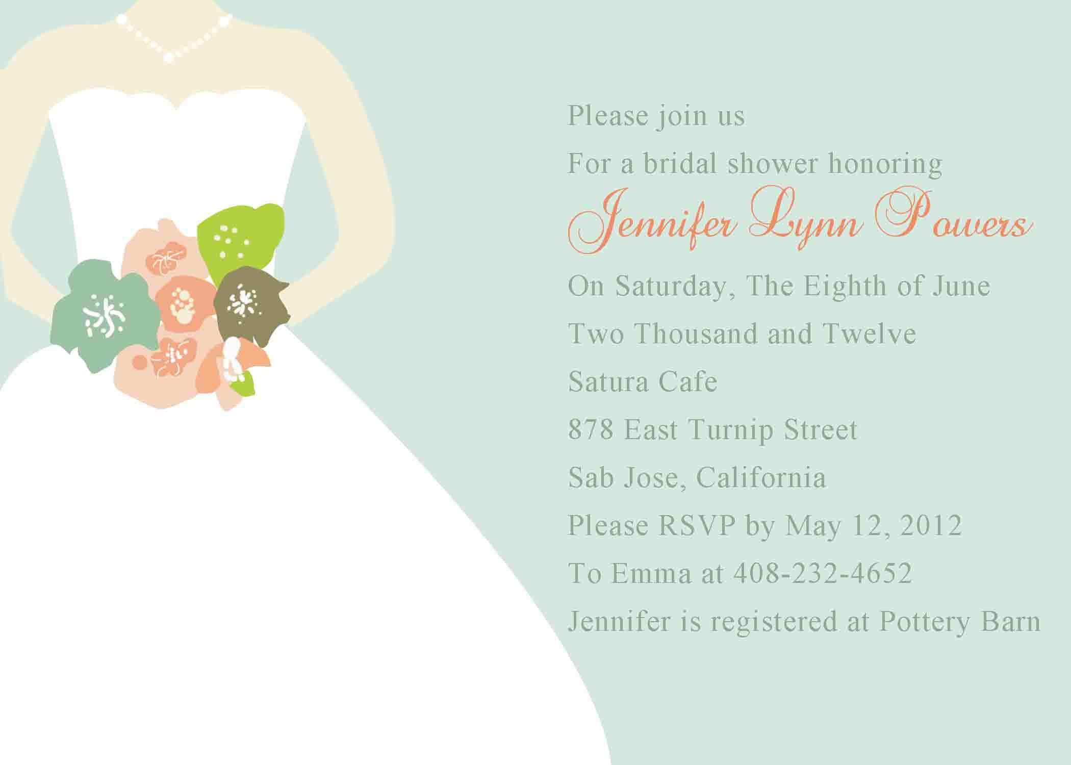 Wedding Shower Invite Templates Bridal Shower Invitation Templates Bridal Shower