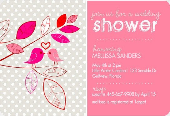 Wedding Shower Invite Templates Bridal Shower Invitation Wording Ideas From Purpletrail
