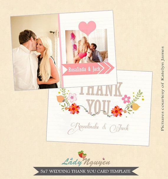 Wedding Thank You Card Template 1000 Images About Wedding Thank You Templates On