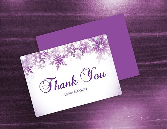 Wedding Thank You Card Template Diy Printable Wedding Thank You Card Template