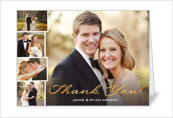 Wedding Thank You Cards Template 21 Wedding Thank You Cards – Free Printable Psd Eps