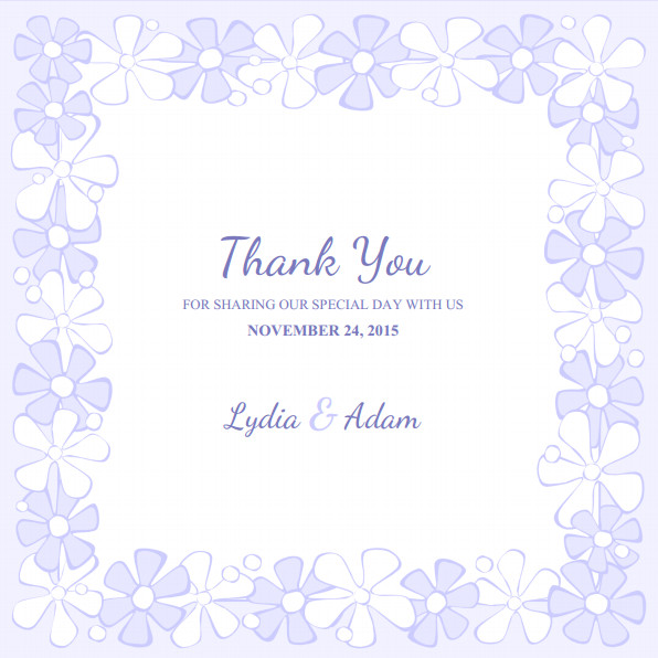 Wedding Thank You Cards Template Wedding Thank You Cards Archives Superdazzle Custom