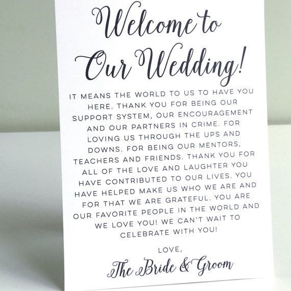 Wedding Welcome Letter Template 25 Cute Wedding Wel E Letters Ideas On Pinterest