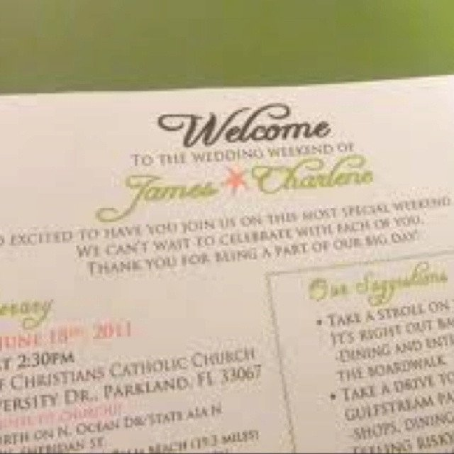 Wedding Welcome Letter Template Wedding Wel E Letter Template