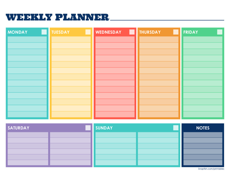 Week Planner Template Word Pin by Tubi Not Tubi On Planner Pages