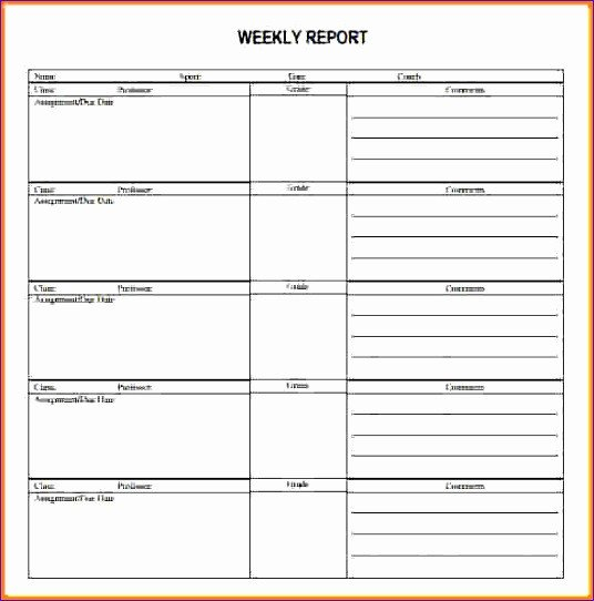 Weekly Activities Report Template 9 Excel Call Log Template Exceltemplates Exceltemplates