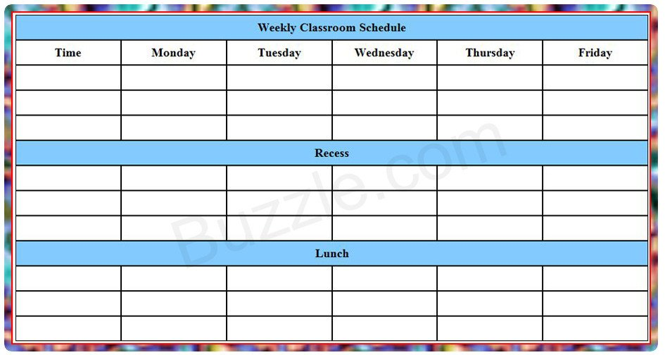 Weekly College Schedule Template Counselors Corner Advice for Your Juniors—four College
