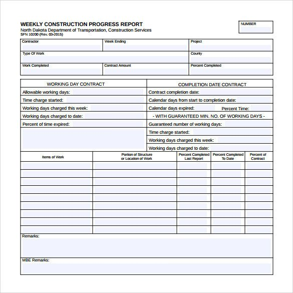 Weekly Progress Report Templates 26 Sample Weekly Report Templates Docs Pdf Word Pages