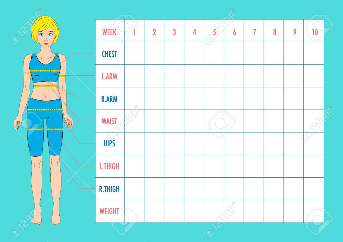 Weight Loss Measurement Charts Pin by Matthew Harden On Weight Loss