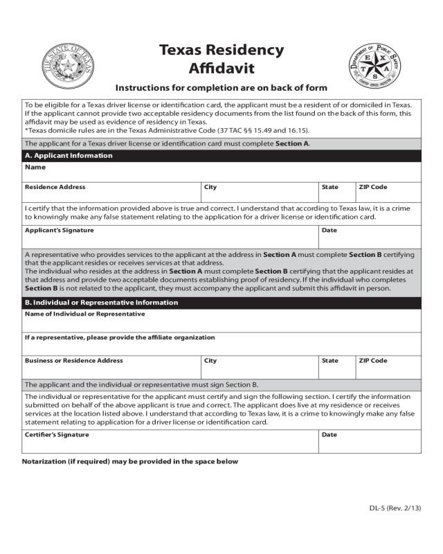 Wells Fargo Affidavit Of Domicile 2018 Affidavit Of Domicile Fillable Printable Pdf
