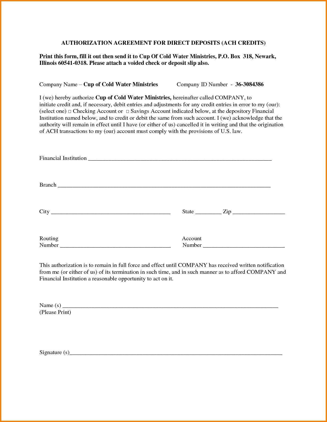 Wells Fargo Affidavit Of Domicile Ach Authorization form Wells Fargo