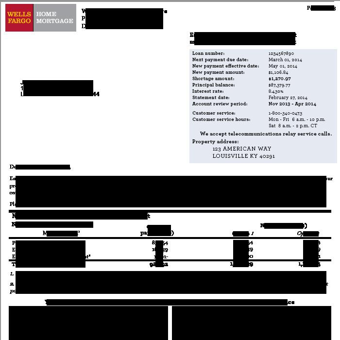 Wells Fargo Bank Statement Template Line Mortgage Wells Fargo Line Mortgage Statements