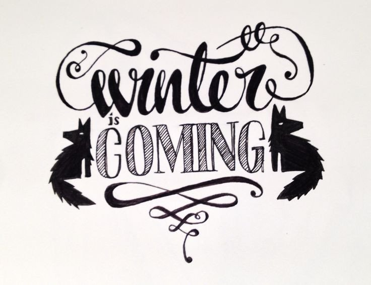 Winter is Coming Font 1000 Ideas About Christmas Typography On Pinterest