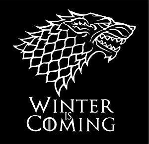 Winter is Coming Font Amazon White Stark Direwolf Winter is Ing Game Of