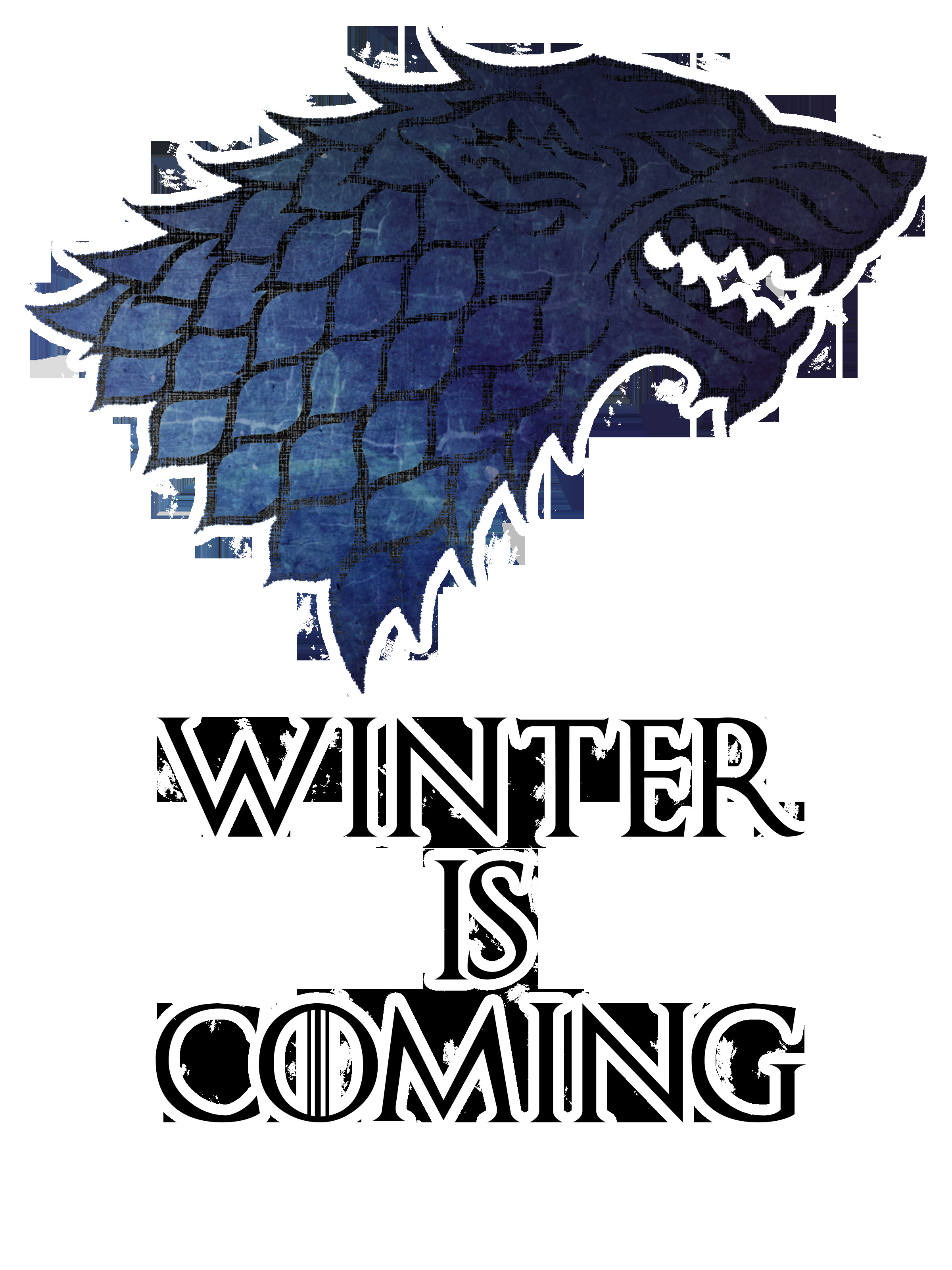 Winter is Coming Font Game Of Thrones Winter is Ing by thatcraigfellow On