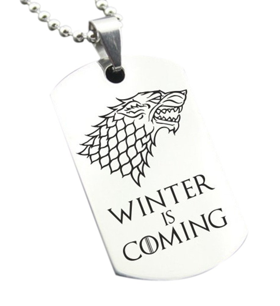 Winter is Coming Font Military Medallion Promotion Shop for Promotional Military