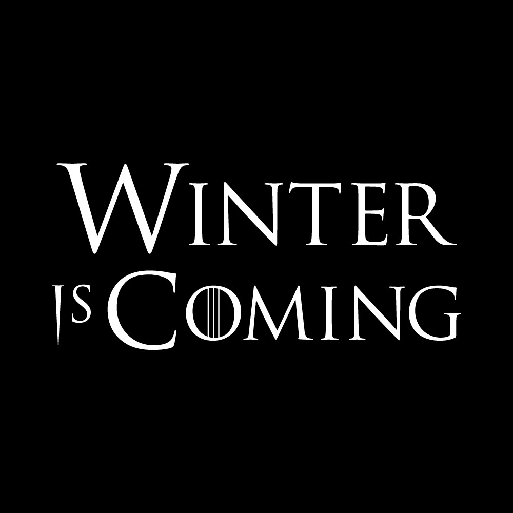Winter is Coming Font Winter is Ing A Game Of Thrones News & Rumors Site