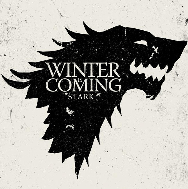 Winter is Coming Font Winter is Ing…