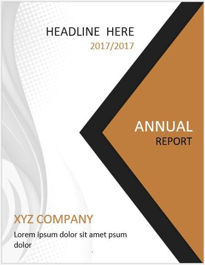 Word Cover Page Templates 20 Report Cover Page Templates for Ms Word