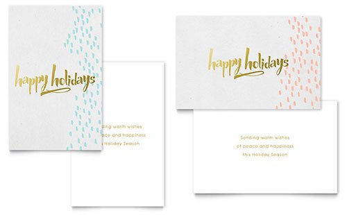 Word Greeting Card Template Free Greeting Card Template Download Word & Publisher