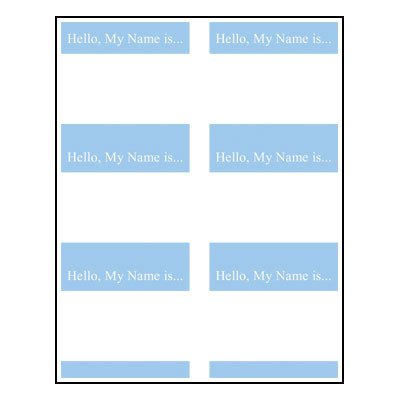Word Name Tag Template Name Tag Template Clipart Best