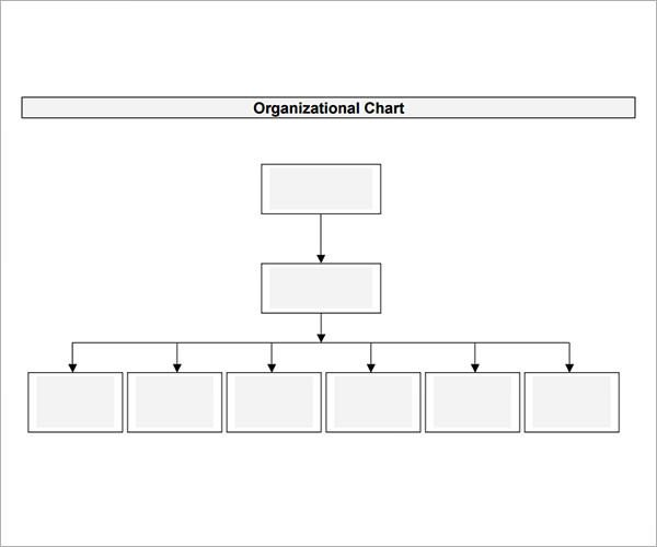 Word organization Chart Template 10 organizational Chart Template Download Free