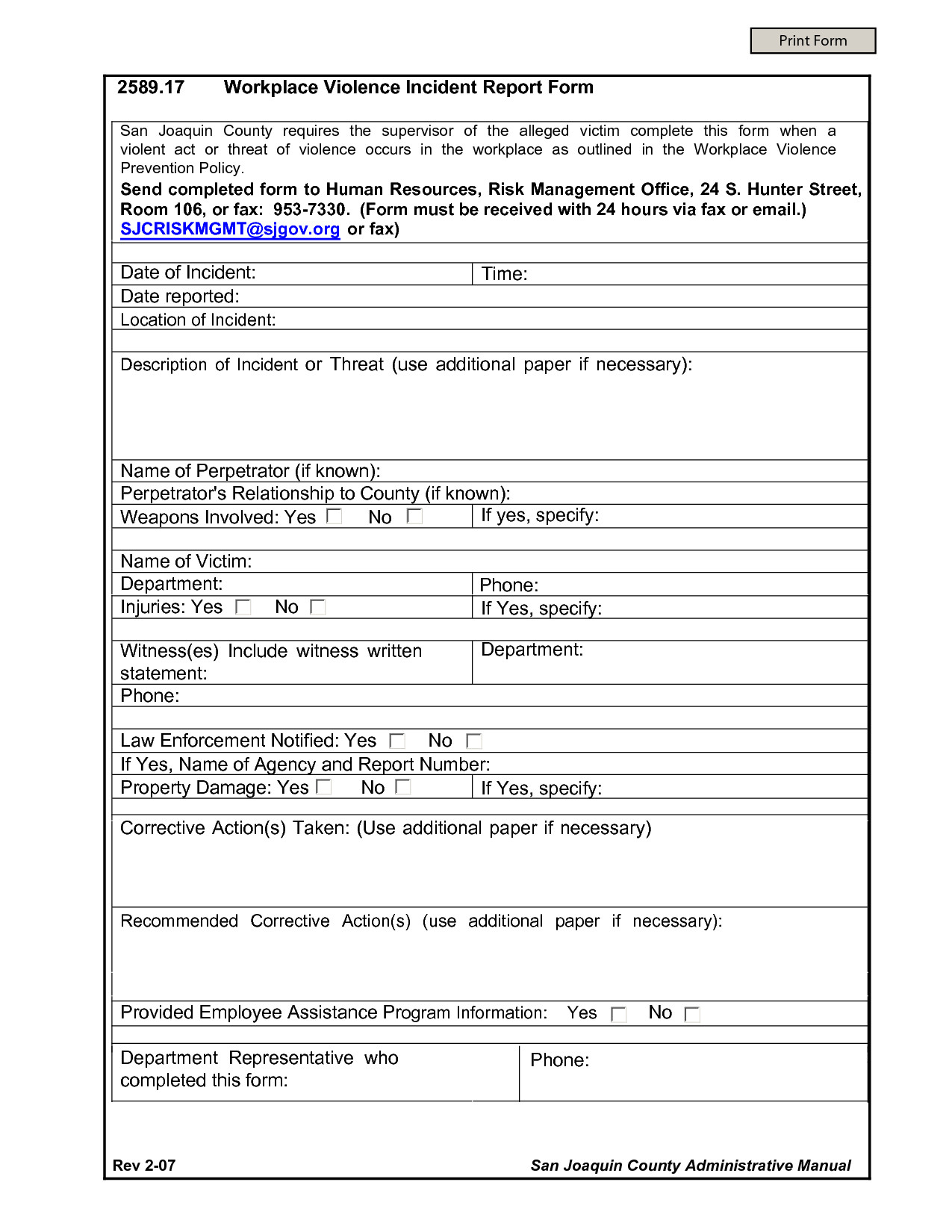 Work Incident Report Template Incident Report Accident at Workplace Custom Paper Sample