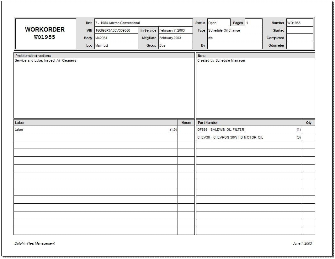 Work order Template Excel 5 Work order Templates formats Examples In Word Excel