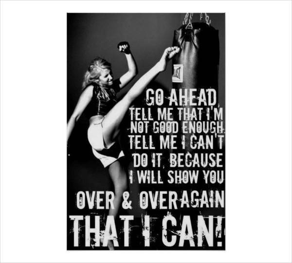 Work Out Motivation Posters 20 Quote Poster Designs