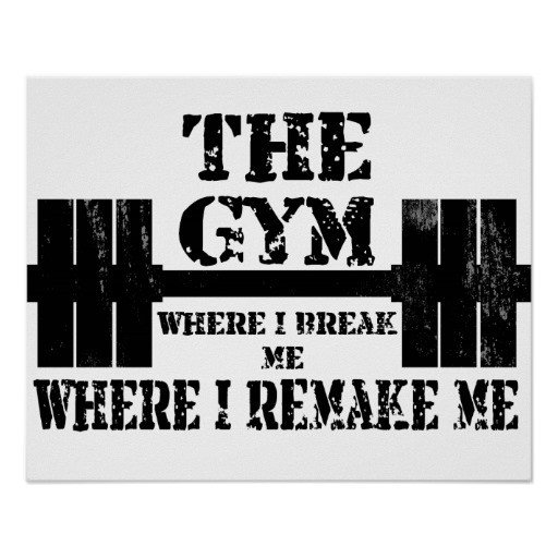 Work Out Motivation Posters Gym Motivation Poster