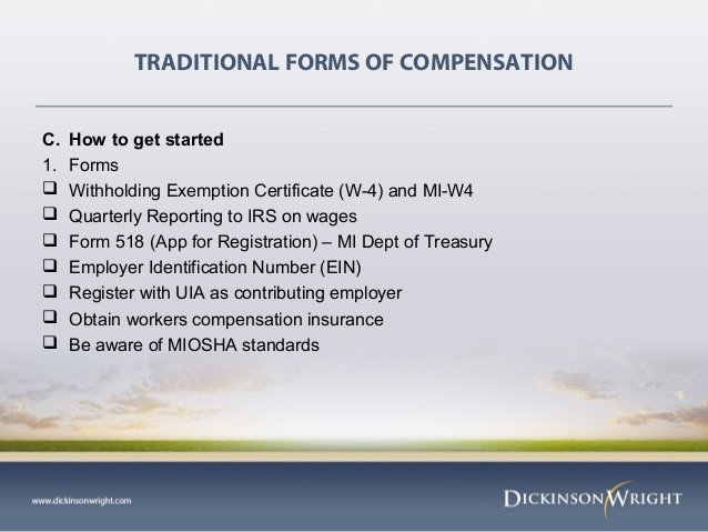 Workers Comp Exemption form Michigan Business Law & order February 18 2013