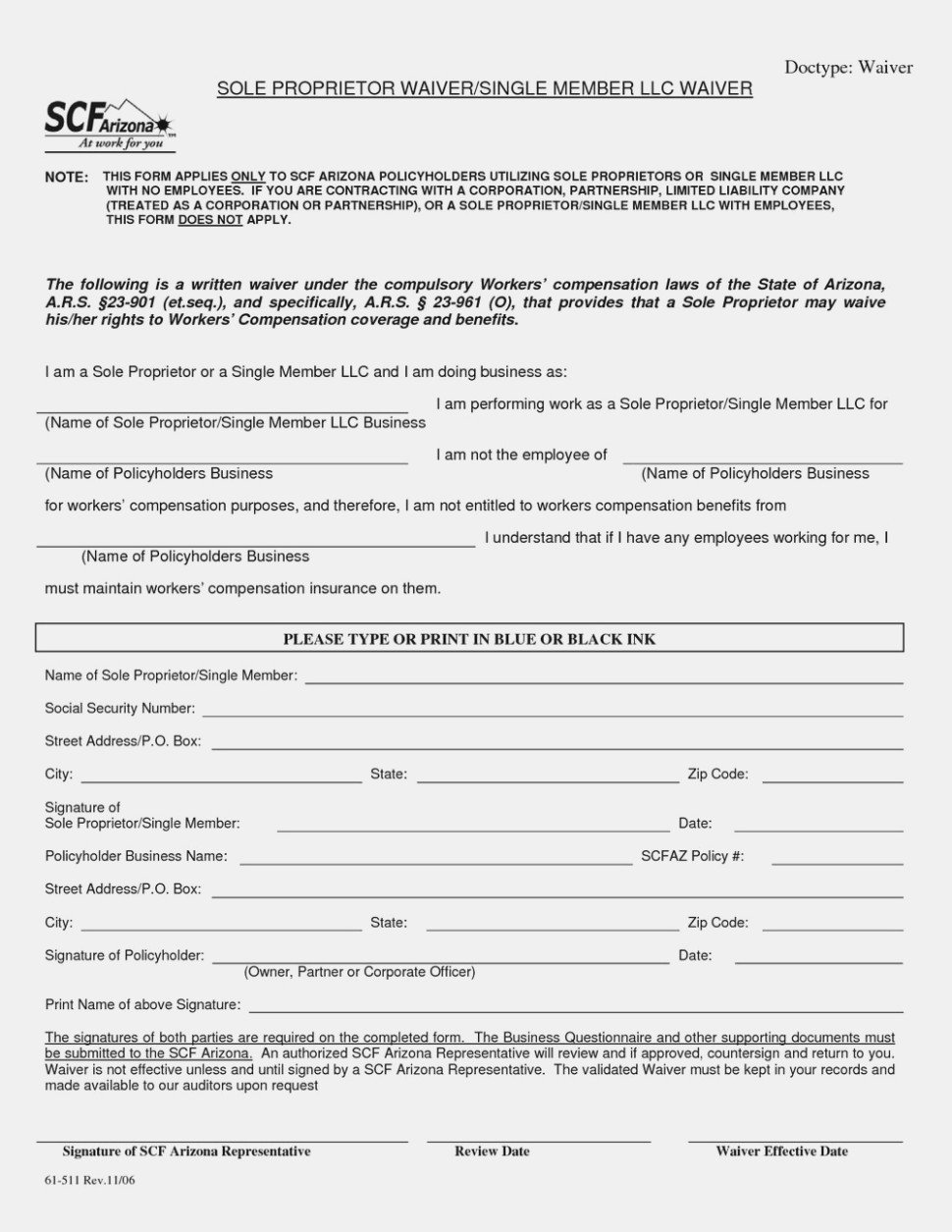Workers Comp Waiver form Oklahoma Five Mon Myths About Workers