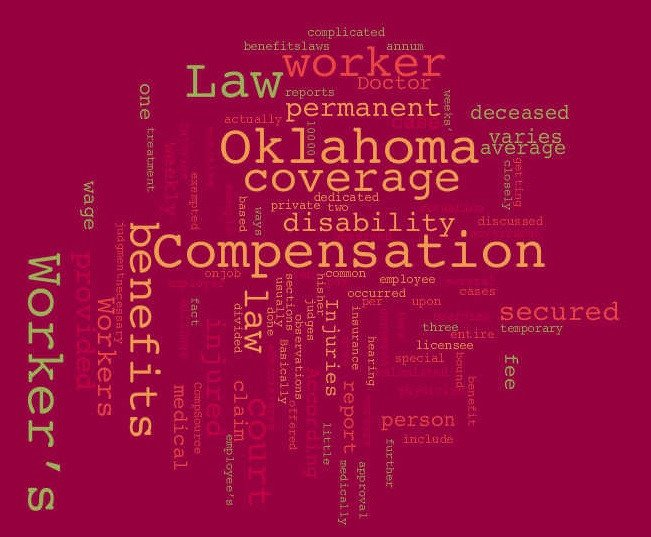 Workers Comp Waiver form Oklahoma Oklahoma Workers Pensation Law