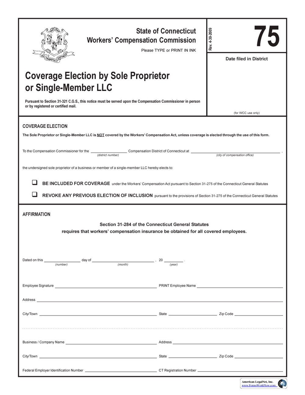 Workers Comp Waiver form Oklahoma Workers Pensation Waiver form for Independent