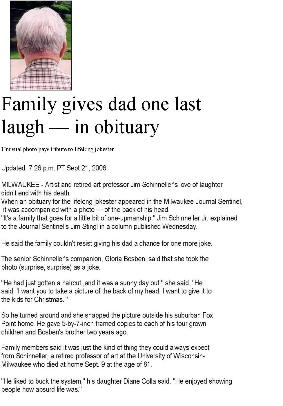 Writing An Obituary Template Obituary Examples Sample Obituary Make It Unique with