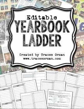 Yearbook Ladder Template Yearbooks Ladder and Templates On Pinterest