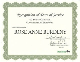 Years Of Service Certificate Template My Creative Works 40 Years Of Service Award
