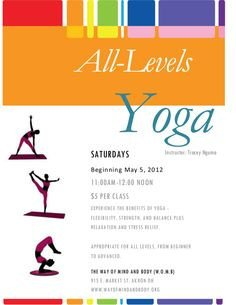 Yoga Flyers Free Template Free Flyer Template for A Yoga Class