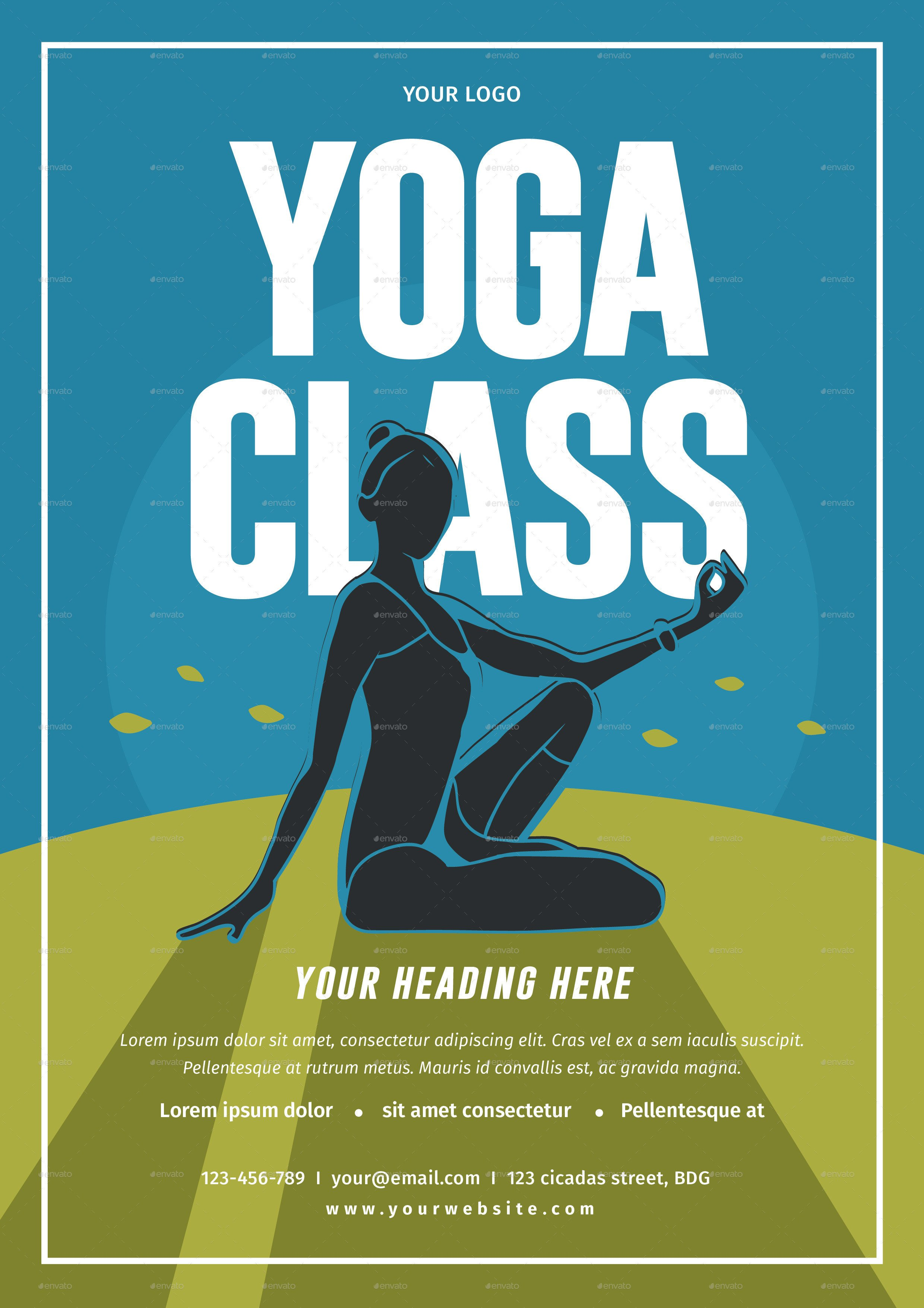 Yoga Flyers Free Template Yoga Class Flyer by Lilynthesweetpea
