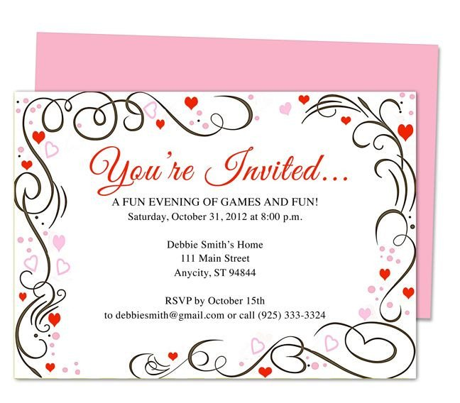 You are Invited Template 17 Best Images About 25th & 50th Wedding Anniversary