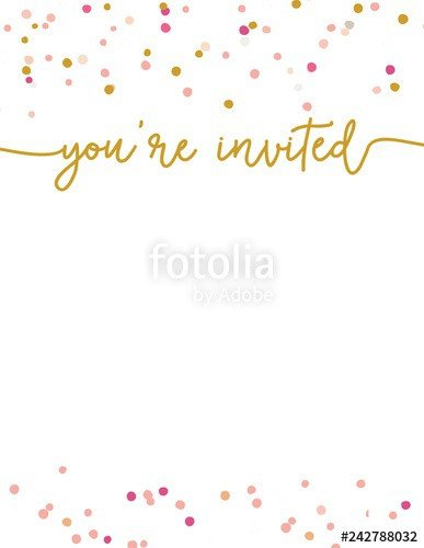"""You are Invited Template """"cute Party Invitation Template You Re Invited Party"""