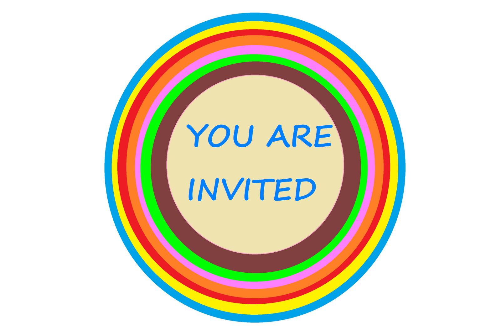 You are Invited Template You are Invited Templates