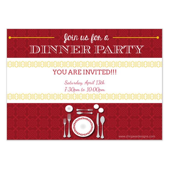 You are Invited Template You are Invited to Dinner Invitations & Cards On Pingg