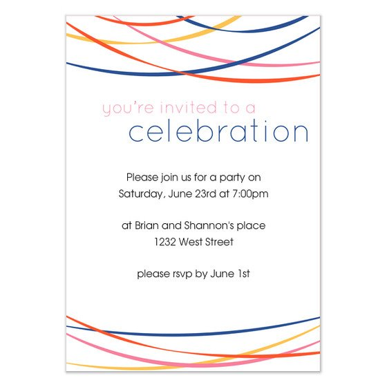 You are Invited Template You Re Invited to A Celebration Invitations & Cards On