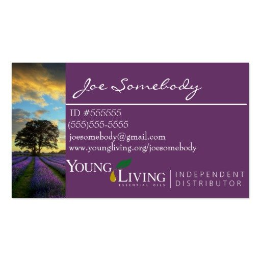 Young Living Business Card Template the Gallery for Young Living Independent Distributor Logo