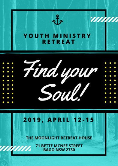 Youth Retreat Flyers Customize 68 Church Flyer Templates Online Canva